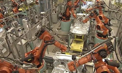 基础的自动化生产线是由那些部分组成的