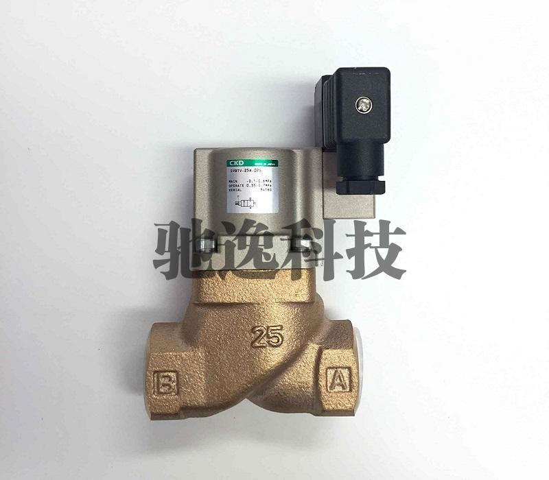 气缸式2通电磁阀SVB1V-25A-02G-DC24V